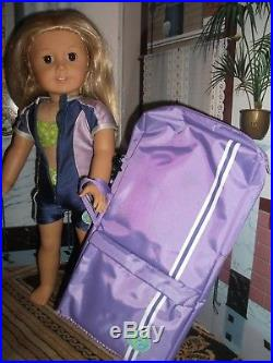 American Girl/Pleasant Co. Kailey Doll GOTY 2003 Full Meet Outfit+ Wetsuit/Bikini