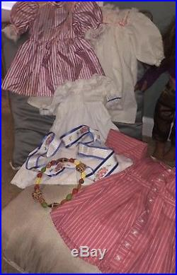 American Girl Pleasant Co Lot 2 Dolls, Historical Outfits, Marisol, Samantha