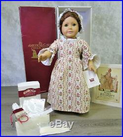 American Girl Pleasant Company 18 FELICITY DOLL MEET OUTFIT & ACCESSORIES +BOX