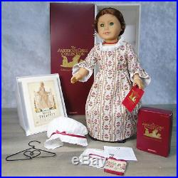 American Girl Pleasant Company 18 FELICITY DOLL, MEET OUTFIT, ACCESSORIES Box