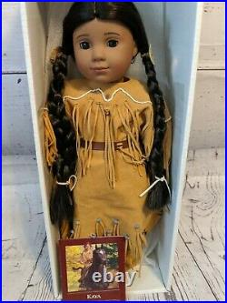 American Girl Pleasant Company 2002 KAYA 18 Doll in Original Outfit With Box