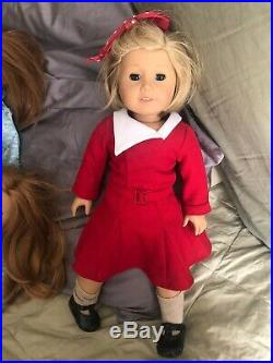 American Girl & Pleasant Company Bitty Baby Twin Lot 10 Dolls + Outfits Clothes