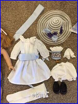 American Girl Pleasant Company DOLL NELLIE in MEET OUTFIT + ACCESSORIES Pajamas