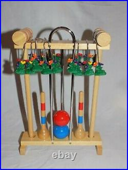 American Girl Pleasant Company Doll 1998 Croquet Set & Birthday Outfit! HTF