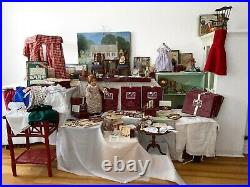 American Girl Pleasant Company Doll FELICITY Retired Outfits Furniture HUGE Lot