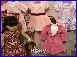 American Girl Pleasant Company Doll Samantha Lot with AG DressesOutfitother