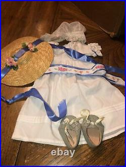 American Girl Pleasant Company Felicity Summer Outfit Complete EUC RETIRED