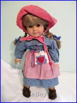 American Girl Pleasant Company Kirsten Larson 18 White body Doll Meet outfit