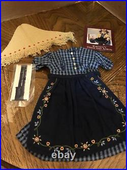American Girl Pleasant Company Kirsten On The Trail Outfit Complete EUC RETIRED