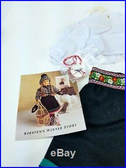 American Girl Pleasant Company Kirsten's Winter Story Outfit and Accessories