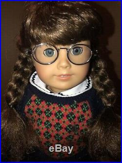 American Girl Pleasant Company Molly Doll WithFull Meet Outfit EUC Retired