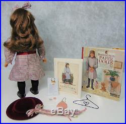 American Girl Pleasant Company SAMANTHA DOLL, MEET OUTFIT Brooch Paper Doll Book