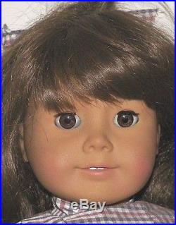 American Girl Pleasant Company Samantha White Body Doll Meet outfit Free Ship