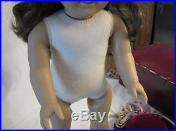 American Girl Pleasant Company White Body Samantha With Outfit & Box