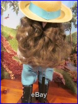American Girl Pleasant Company White Body Samantha doll in AG outfit