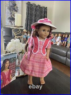 American Girl RETIRED Marie Grace Doll In & Original Outfit Excellent Book