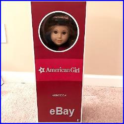 American Girl Rebecca Rubin 18 Doll, Classic, withBook Box Meet Outfit Acessories