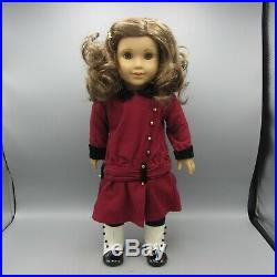American Girl Rebecca Rubin 18 Doll with Meet Outfit Coat Boots Clip Book & Box