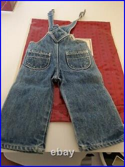 American Girl Retired Kit Hobo Overalls Outfit and Work Boots