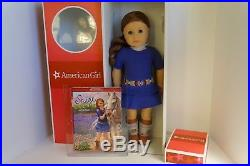 American Girl SAIGE Brand New in Box Girl of the Year 2013 With Sweater Outfit