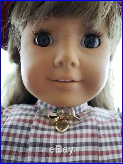 American Girl SAMANTHA 18 Doll With Original Outfit Pleasant Company WHITE BODY