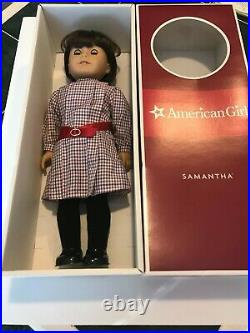 American Girl SAMANTHA Doll With Original Meet Outfit and Box