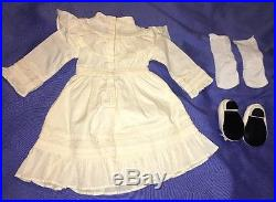 American Girl SAMANTHA Lawn Party Croquet Dress Outfit with Shoes and Socks