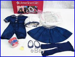American Girl SAMANTHA'S 1904 BATHING SUIT DRESS Outfit Ring Bucket Shovel BAG +