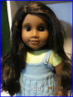 American Girl SONALI Doll in Full Meet Outfit in White Box