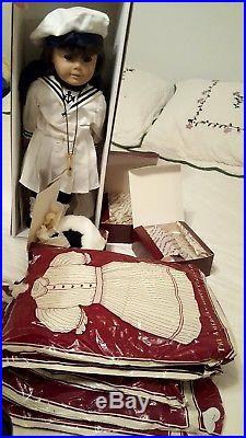 American Girl Samantha 18 Doll Original PLEASANT COMPANY Six Outfits RETIRED