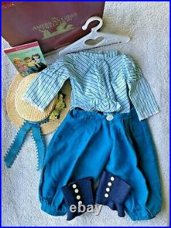 American Girl Samantha Bicycling Outfit 1st Edition RARE Complete