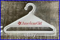 American Girl Samantha Bird Watching Outfit Binoculars Dress Hat Hanger Box