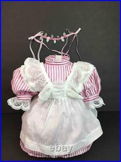 American Girl Samantha Birthday dress/OutfitRosebud CircletPleasant Company 89
