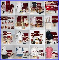 American Girl Samantha Collection with 1st yr Outfits, Rare Accessories & boxes