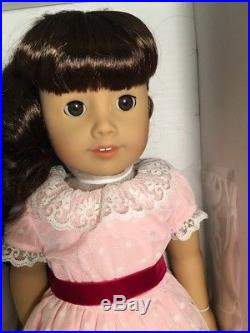 American Girl Samantha Doll, Accessories & Her Holiday Outfit Tea Set NEW in Box