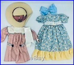 American Girl Samantha Doll Pleasant Company with 8 Complete Outfits & Accessories