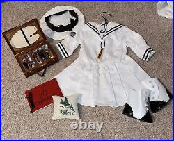 American Girl Samantha Pleasant Company Middy Outfit and Summer Amusements Lot