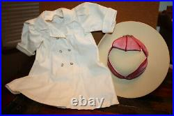 American Girl Samantha Travel Duster Coat w Hat and Scarf Outfit NIB