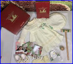 American Girl Samanthas Lawn Party Outfit +Shoes Socks & Boxes! AccessoriesNIP