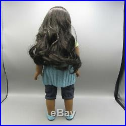 American Girl Sonali Matthews 18 Doll with Meet Outfit Book & Box GOTY 2009