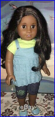 American Girl Sonali Matthews In Original Outfit Retired HTF