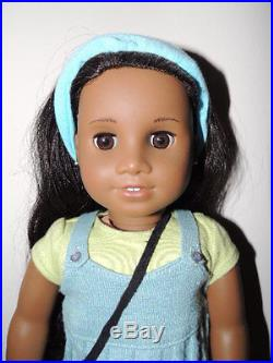 American Girl Sonali with Meet Outfit, headband, handmade purse