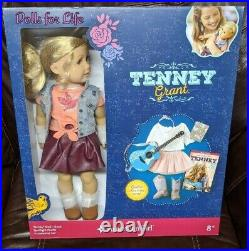 American Girl Tenney Grant 18 Doll Spotlight Outfit Guitar Accessories NEW