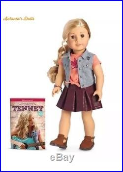 American Girl Tenney Grant Doll New WITH PICNIC OUTFIT & SPOTLIGHT OUTFIT
