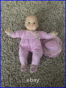 American Girl Truly Me Baby Polly doll with Original Outfit Felicity's baby sister