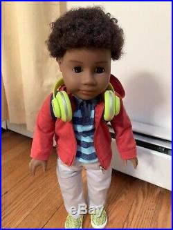 American Girl Truly Me Boy 18 Doll with 5 Outfits & Accessories