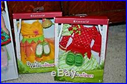 American Girl WellieWisher Doll Willa Plus Accessories, Outfits, Backpack NEW