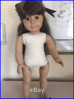 American Girl White body Samantha Pleasant Company In School Outfit! Beautiful