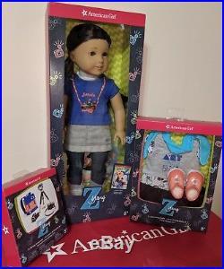 American Girl Z Yang/'s kit 18/'/' doll accessories New in original box