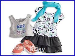 American Girl Z Yang DOLL Z's Filming Accessories Camera Sightseeing Outfit NEW